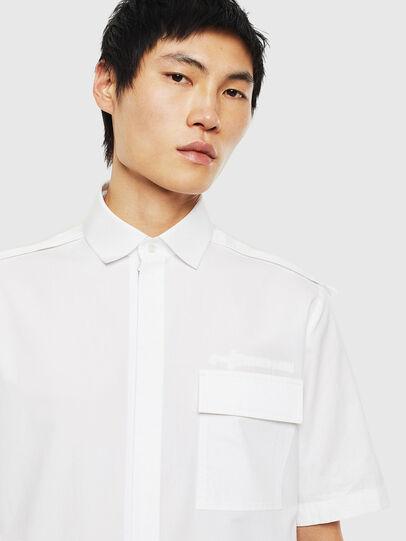 Diesel - S-GIBBS, White - Shirts - Image 3