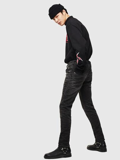 Diesel - CL-Krooley-T-CB JoggJeans 069PK, Black - Jeans - Image 6
