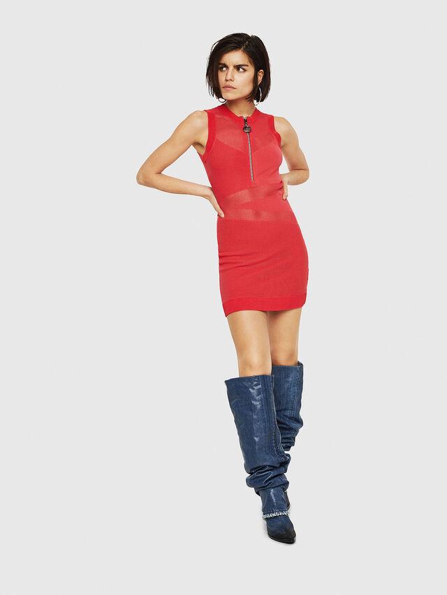 Diesel - M-FROUX, Coral Rose - Dresses - Image 4