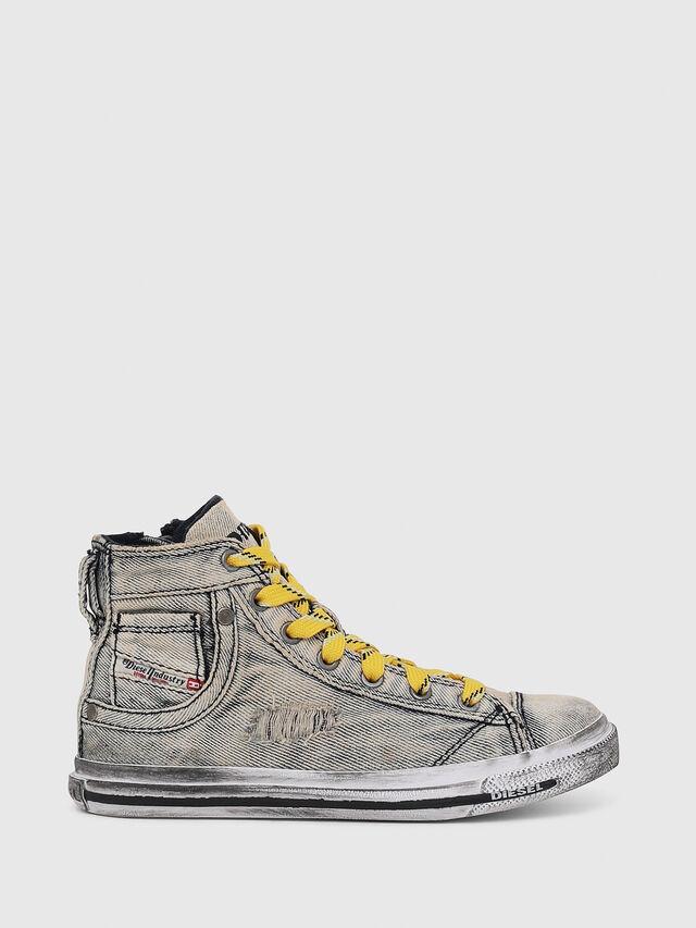 Diesel - SN MID 20 EXPOSURE Y, Grey Jeans - Footwear - Image 1
