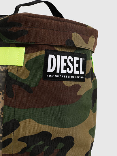 Diesel - PIEVE, Green Camouflage - Backpacks - Image 4