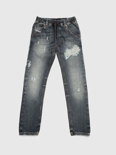 Diesel - KROOLEY-J JOGGJEANS, Medium blue - Jeans - Image 1