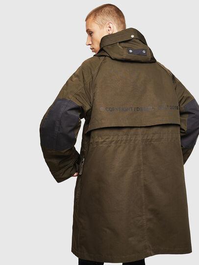 Diesel - W-KOBEC, Military Green - Winter Jackets - Image 2