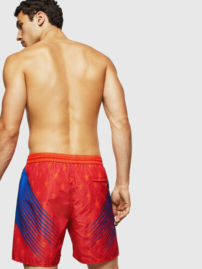 Diesel - BMBX-WAVENEW, Red - Swim shorts - Image 2