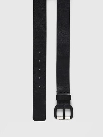 Diesel - B-ZIGRA, Black - Belts - Image 3