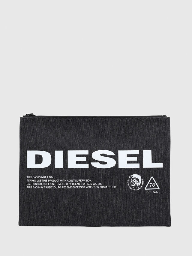 Diesel - LUSINA II, Blue Jeans - Continental Wallets - Image 1