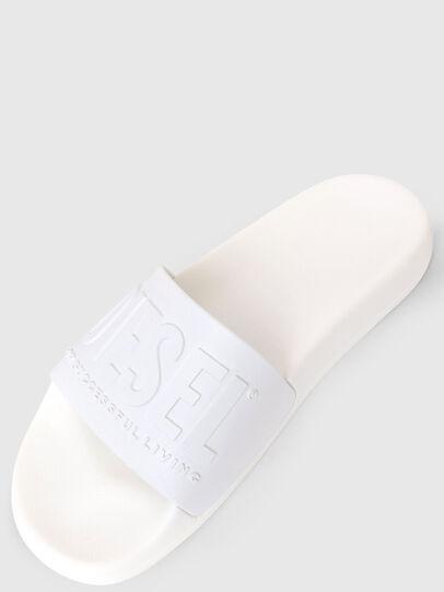 Diesel - SA-MAYEMI W, White - Slippers - Image 5