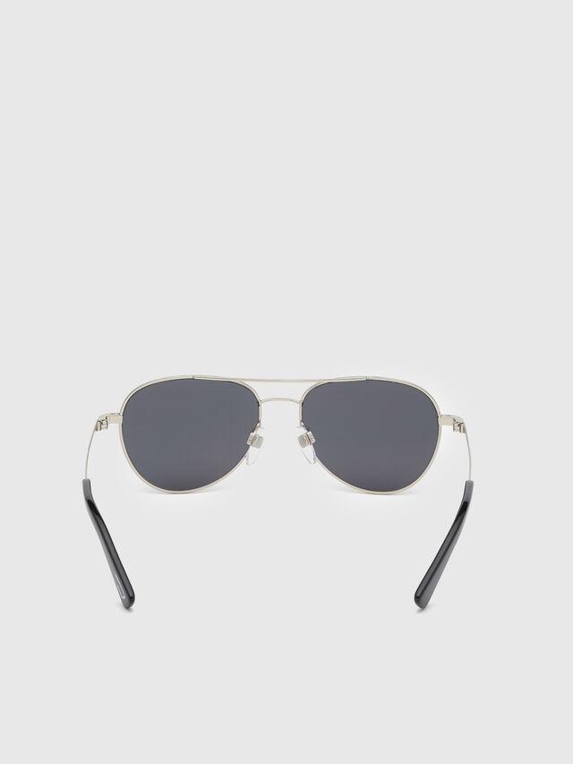 Diesel - DL0291, Silver/Black - Kid Eyewear - Image 4
