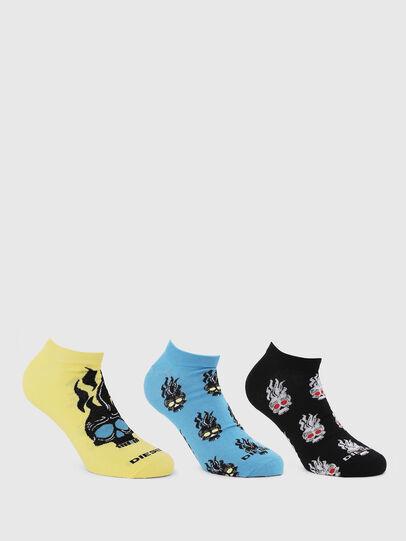 Diesel - SKM-GOST-THREEPACK, Multicolor - Socks - Image 1