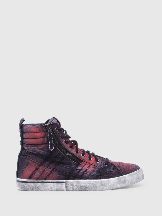 Diesel - D-VELOWS MID LACE, Blue/Red - Sneakers - Image 1