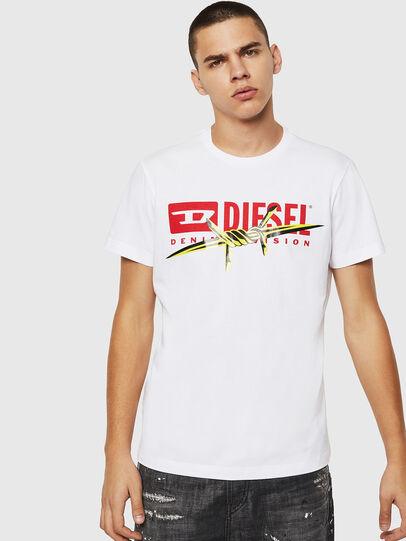 Diesel - T-DIEGO-BX2, White - T-Shirts - Image 1