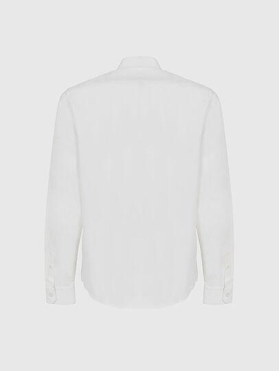 Diesel - S-BILL-POCKET, White - Shirts - Image 2