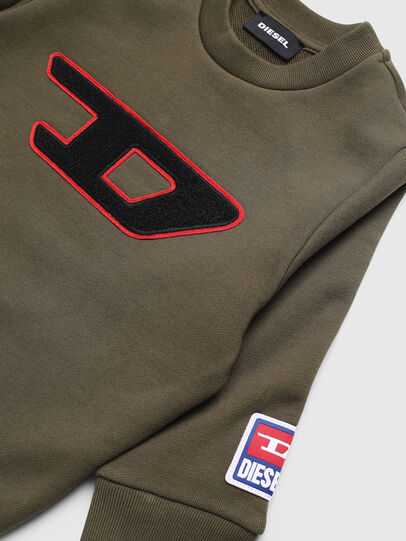 Diesel - SCREWDIVISIONB-D-R, Military Green - Sweaters - Image 3