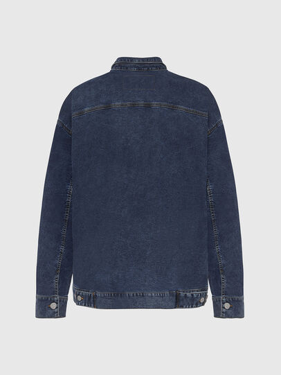 Diesel - D-RAF-SP JOGGJEANS, Dark Blue - Denim Jackets - Image 2