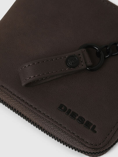 Diesel - ZIPPY HIRESH S WITH, Dark grey - Zip-Round Wallets - Image 5