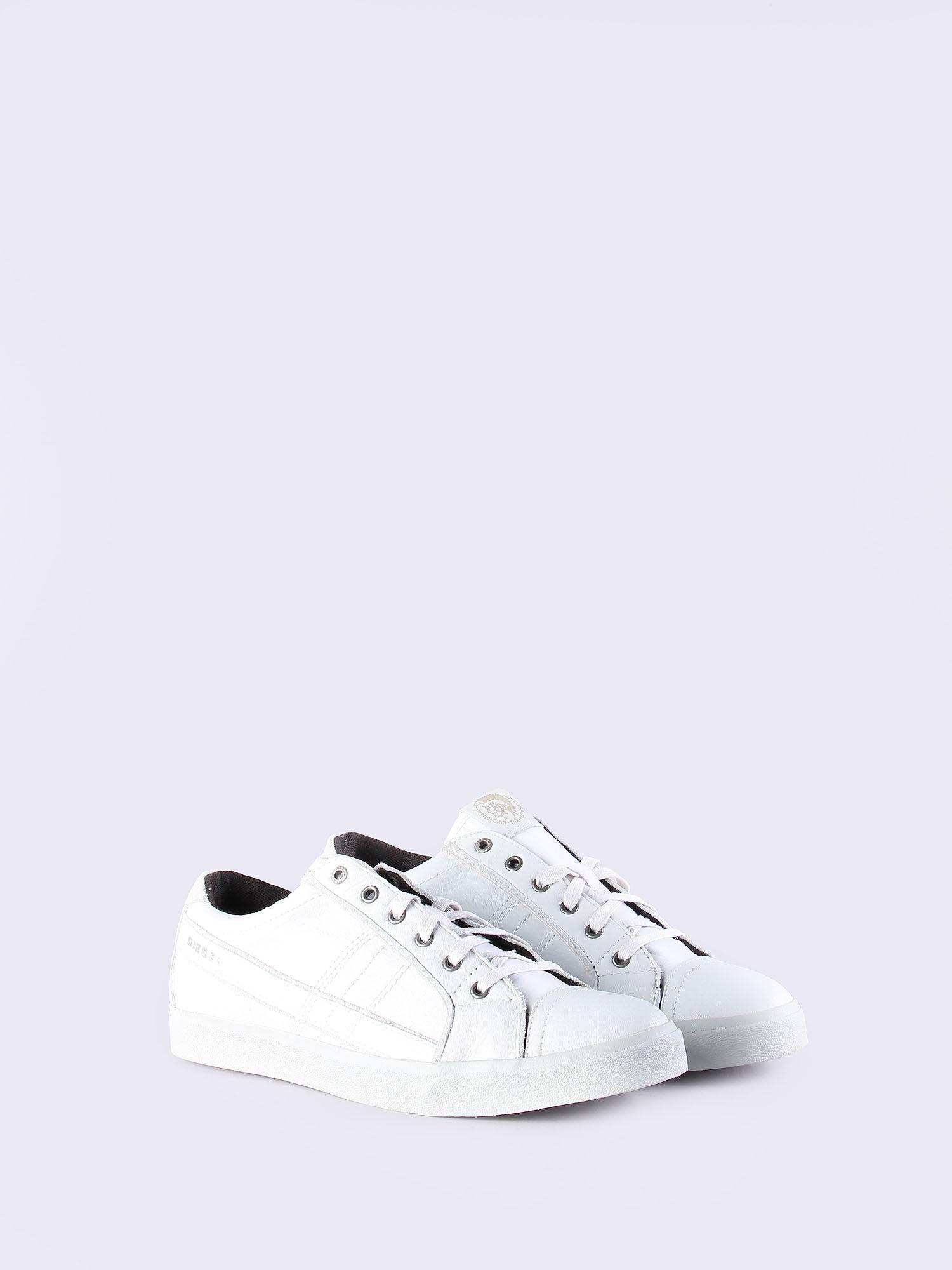 D-STRING LOW - Sneaker low - white qjTASVSjs