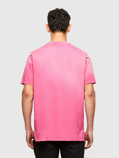 Diesel - T-JUBIND-SLITS-A1, Pink - T-Shirts - Image 2