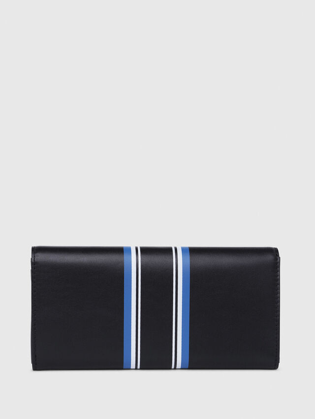Diesel - 24 A DAY, Dark Blue - Continental Wallets - Image 2