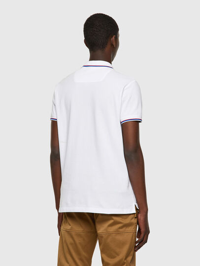 Diesel - T-RANDY-NEW, White - Polos - Image 2