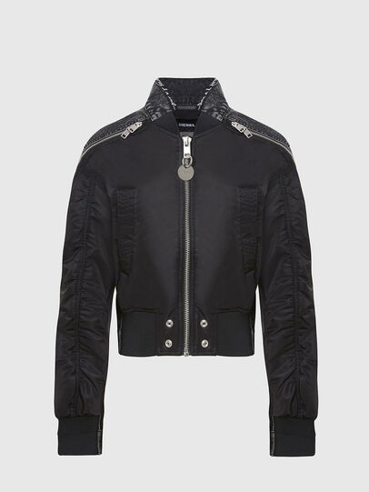 Diesel - G-DANIEL, Black - Jackets - Image 1