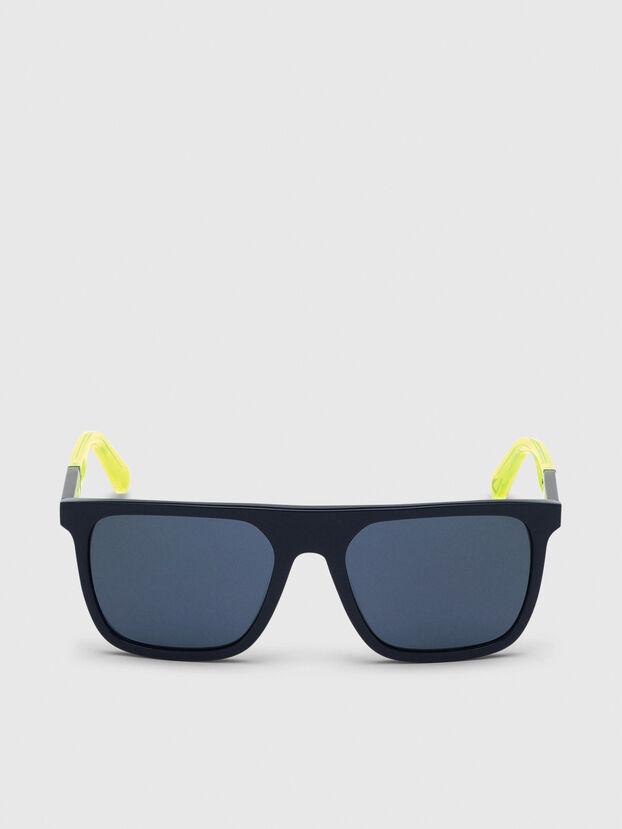 DL0299, Blue/Yellow - Sunglasses