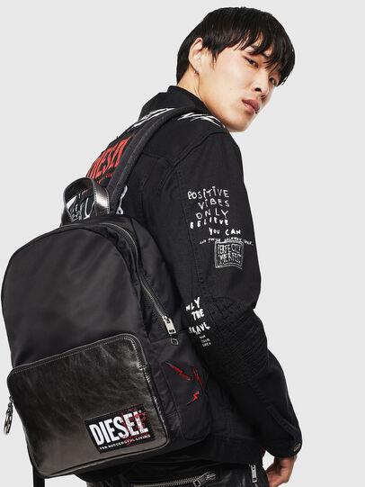 Diesel - MIRANO CNY, Black - Backpacks - Image 8