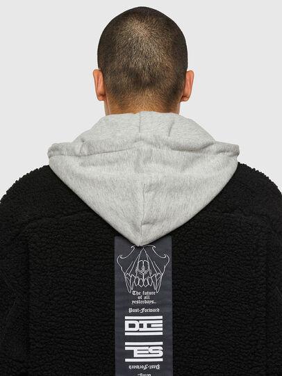 Diesel - W-GARY, Black - Winter Jackets - Image 4