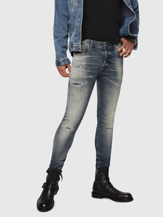 Diesel - Sleenker 069DK, Medium blue - Jeans - Image 1
