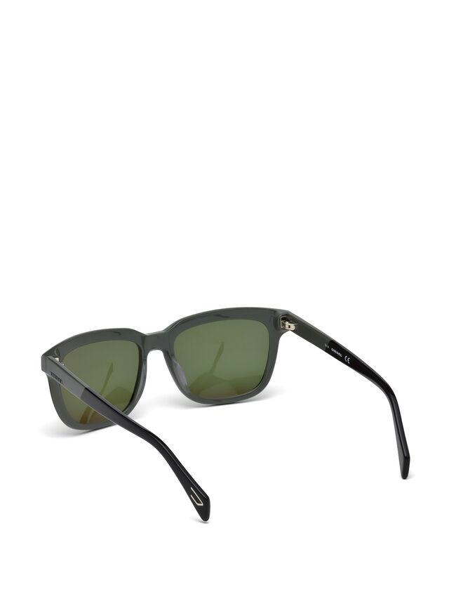 Diesel - DL0224, Green - Eyewear - Image 2