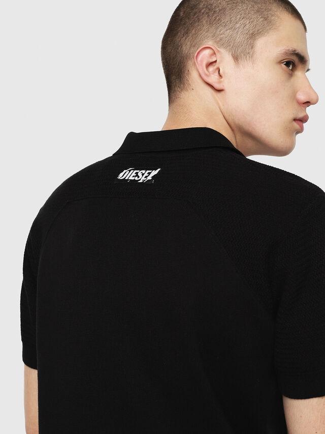 Diesel - K-MYX, Black - Knitwear - Image 4