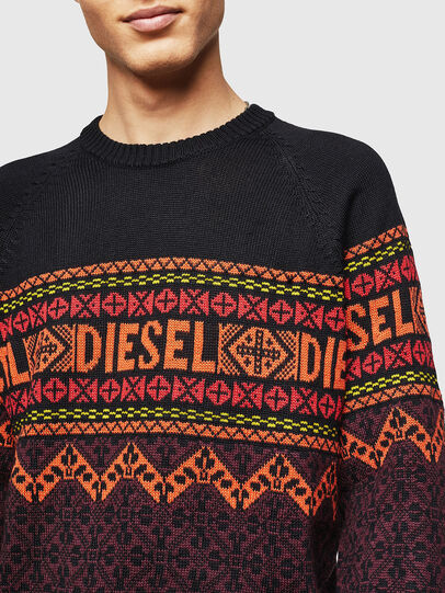 Diesel - K-CV-ALLJAC, Multicolor/Black - Knitwear - Image 3