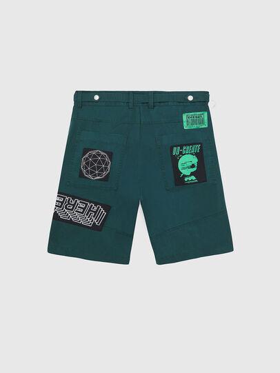 Diesel - P-DUGA-SHO, Dark Green - Shorts - Image 2