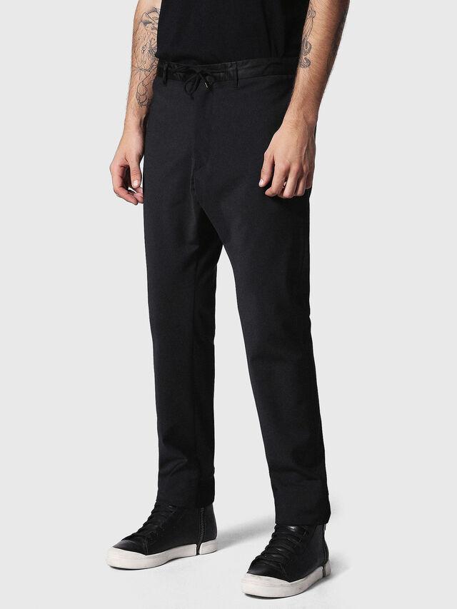 Diesel P-HONNYER, Black - Pants - Image 1