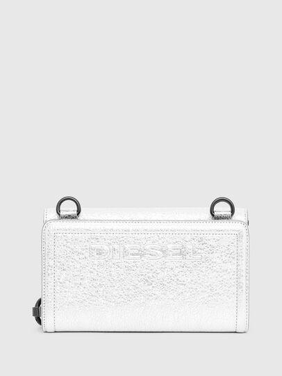 Diesel - DUPLET LC, Silver - Zip-Round Wallets - Image 2