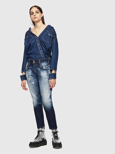 Diesel - Fayza 0092I, Dark Blue - Jeans - Image 6