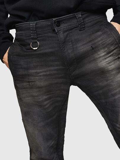 Diesel - D-Earby JoggJeans 069GN, Black/Dark grey - Jeans - Image 3