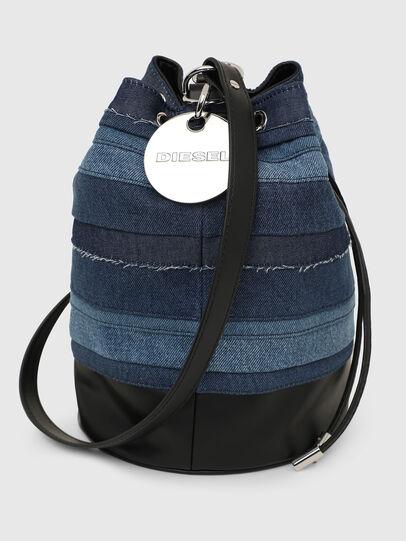 Diesel - RINDA, Blue - Crossbody Bags - Image 3