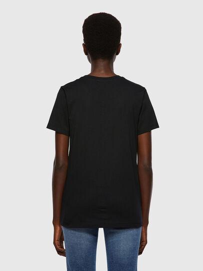 Diesel - T-SILY-B2, Black - T-Shirts - Image 2