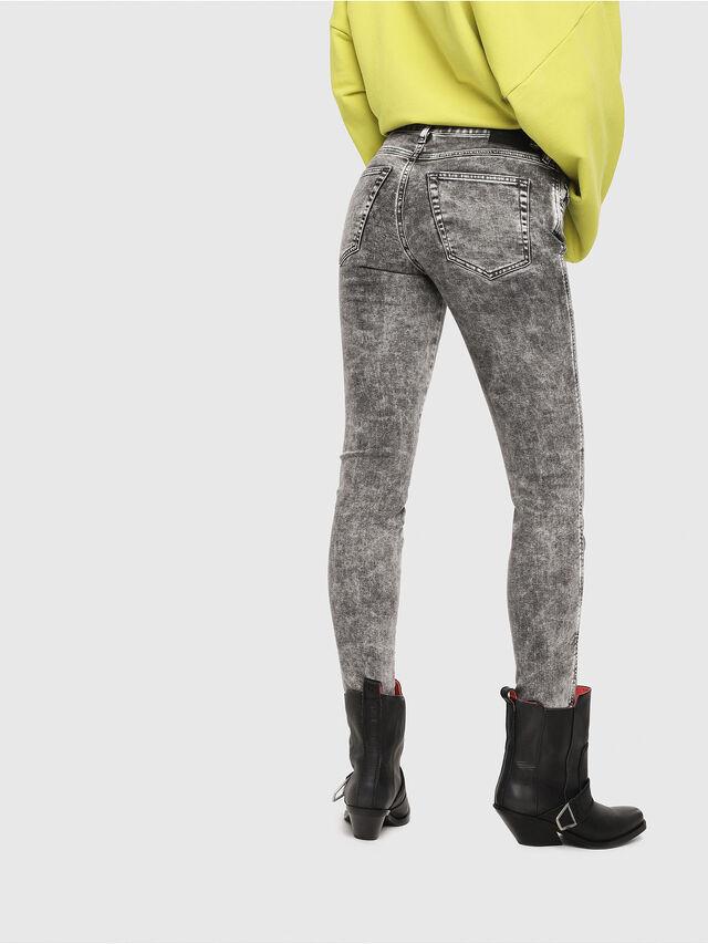 Diesel - Babhila 069FK, Light Grey - Jeans - Image 2