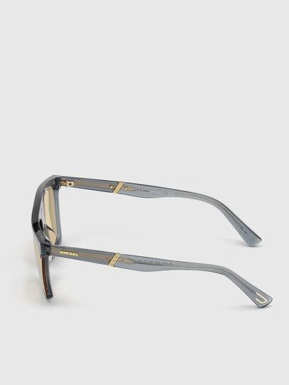 Diesel - DL0323, Black/Yellow - Sunglasses - Image 3
