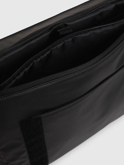 Diesel - F-BOLD MESSENGER II, Black - Crossbody Bags - Image 5