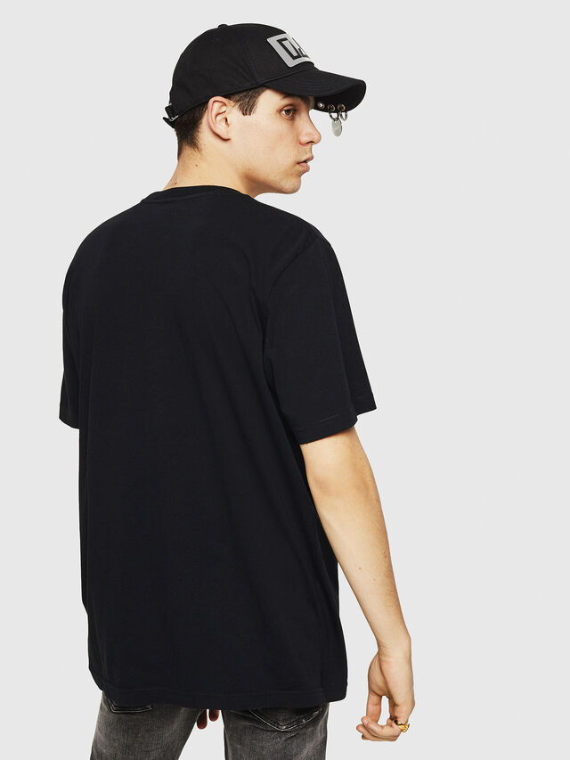 Diesel - T-JUST-Y21, Black - T-Shirts - Image 2