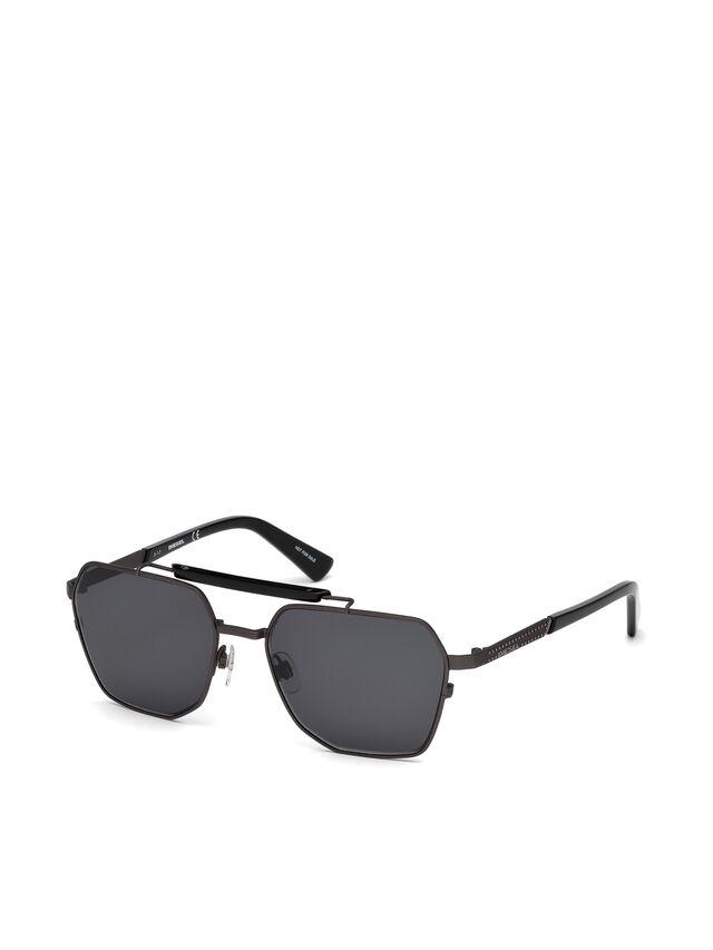Diesel - DL0256, Black - Sunglasses - Image 2