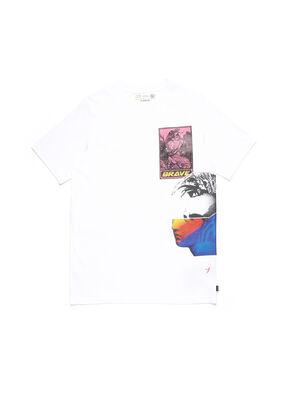 D-5055-W, White - T-Shirts
