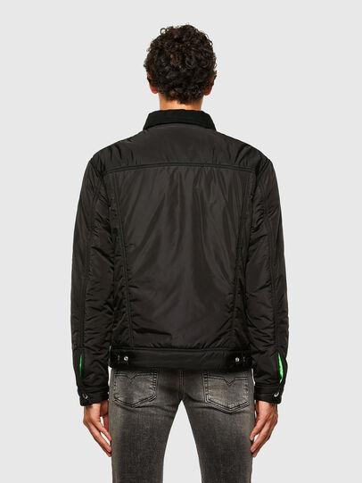 Diesel - W-JORGE, Black - Winter Jackets - Image 2