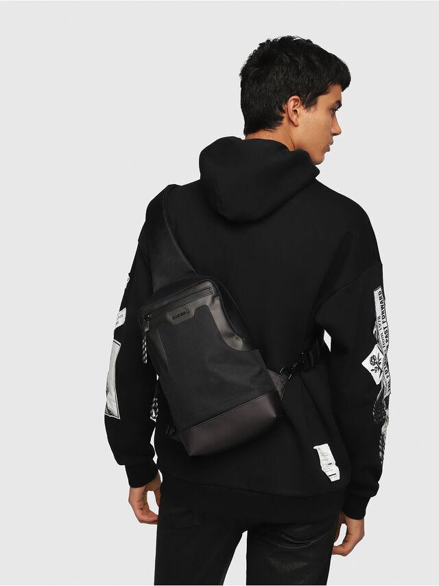 Diesel - SUSE MONO, Black - Backpacks - Image 5