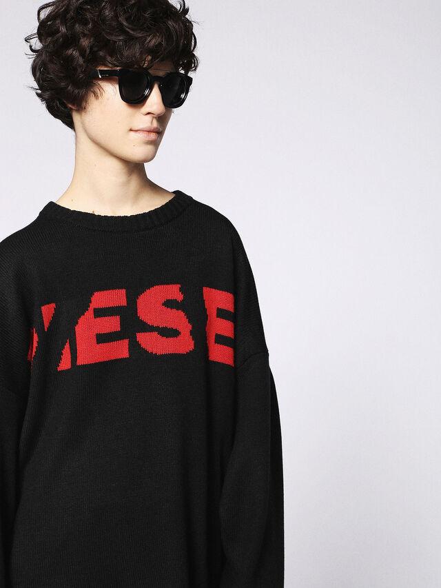 Diesel - DL0251, Bright Black - Eyewear - Image 6