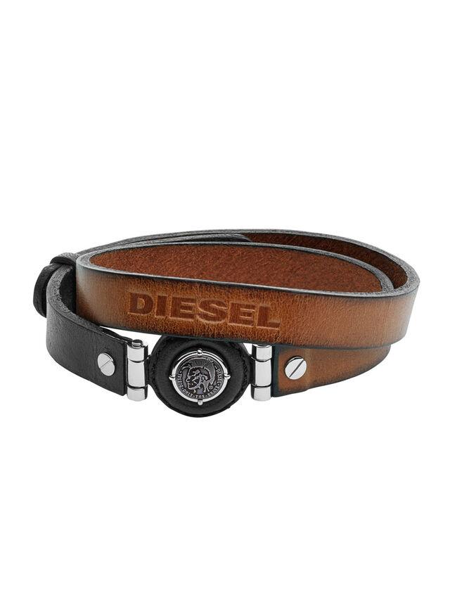 Diesel - BRACELET DX1021, Brown - Bracelets - Image 1