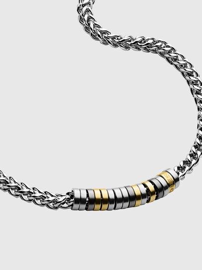Diesel - DX1188, Silver - Necklaces - Image 2
