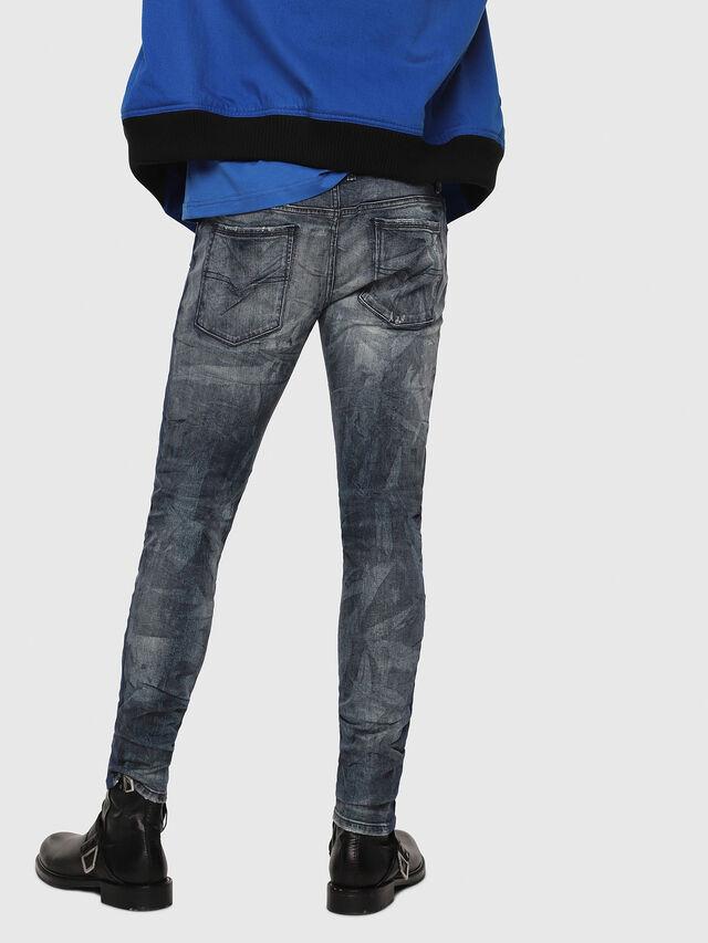 Diesel - Sleenker 069DH, Dark Blue - Jeans - Image 2